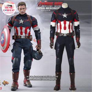 Super Premium Set: ชุดพรีเมียม กัปตันอเมริกา เอจ ออฟ อัลตรอน – Captain America Age of Ultron