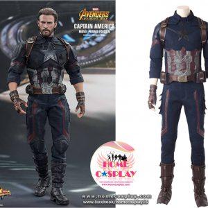 Super Premium Set: ชุดพรีเมียม กัปตันอเมริกา อินฟินิตี้ วอร์ – Infinity War