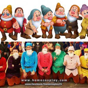 ชุดคนแคระทั้ง 7 Seven Dwarfs – Snow White